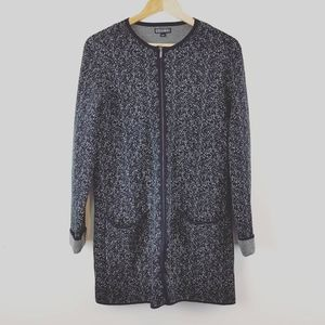 NICOLE MILLER |Ladies Zip Up Thick Sweater Jacket